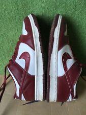 Ultra rare 1999 Nike Dunk Low Team Red UK 8.5 US 9.5
