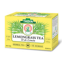 Tadin Lemongrass Herbal Tea. Energy Booster and Digestive Aid. 24 Bags. 0.84 oz