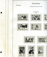 "Kabe ""senza piega"" DDR 1966 - 1970 in marrone klemmb. - NP 140,-- € (z517)"