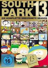 SOUTH PARK: SEASON 13 AMARAY  3 DVD NEU ERIC STOUGH/+