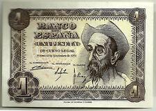 BILLETE DE 1 PESETA DE 1951 (EBC+++) DON QUIJOTE (SERIE Q)