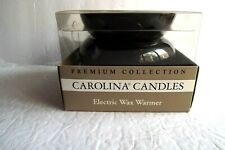 Carolina Candles Electric Warmer Black New
