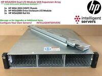 HP MSA2024 Dual I/O Module SAN Expansion Array * AJ949A *