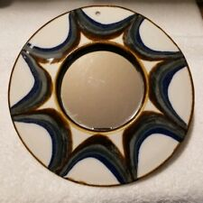 EVANGEL POTTERY Vintage Hand-Crafted Wall Mirror, Albuquerque NM