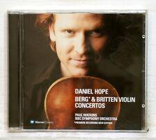 DANIEL HOPE - BERG & BRITTEN violin concertos WARNER CD NM