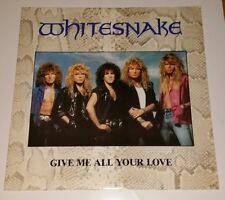 "Whitesnake, Dame todo tu amor pre propiedad de vinilo de 12""."