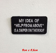 My idea of help art badge Embroidered Iron or Sew on Patch
