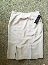 NWT - Black Label Ralph Lauren Women's Khaki Pencil Skirt Size 4
