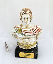Alexander the Great the most successful commander in history sculpture bust