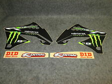 Kawasaki KXF450 2009-2011 D Cor Monster Energy kit grafica 10-20714