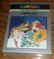 Emerson Arcadia  2001 CAPTURE Video Game Cartridge #19 w box Instruction manual