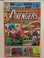 Marvel AVENGERS ANNUAL #10 (1981) 1st Appearance of Rogue & Madeline Pryor