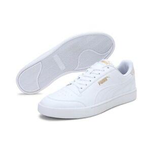 Puma Men's Shuffle Fashion Sneaker White - Puma Team Gold