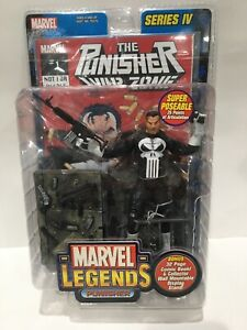 2003 Toy Biz Marvel Legends Punisher Series 4 Action Figure 6'' NIP