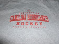 Property of Carolina Hurricanes Hockey Tee Shirt Size Med.