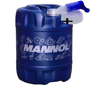 20 Liter MANNOL 2-Takt Plus +Auslaufhahn TC HUSQVARNA TestISO JASO FD