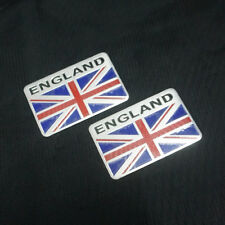 2x Big England Metal Badge Sticker Emblem Decal 3D Utility Car Logo Limited Auto