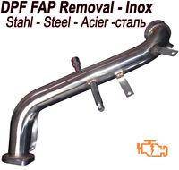 Downpipe DPF FAP Removal T6 Fiat Doblo 1.6 105 120 hp