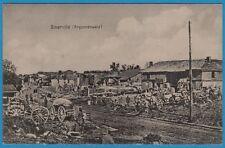 CPA: Binarville (Argonnenwald)  / guerre 14-18 / 1915