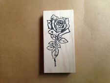 Mounted Rubber Stamps, Flower Stamps,  Flowers, Floral Stamps, Roses, Tea Rose