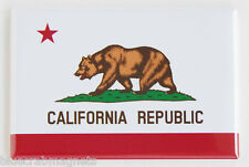 California State Flag FRIDGE MAGNET (2 x 3 inches)