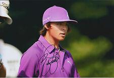 Rickie FOWLER SIGNED Autograph 12x8 Photo AFTAL COA Korean Open GOLF Winner