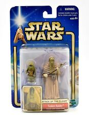 Star Wars Attack of the Clones - Tusken Raider Female with Child Action Figure