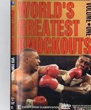 BOXING GREATEST KNOCKOUTS VOL.1 - LIMITED EDITION BOXING DVD - ON SPECIAL