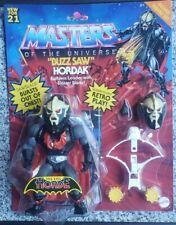 "Mattel Masters of The Universe Buzz Saw Hordak Action Figure Set He-Man 5"" retro"