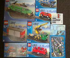 LEGO 7898 Deluxe Cargo Train Rare