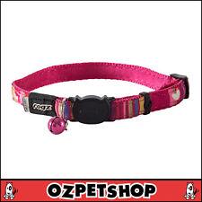 Rogz NeoCat Cat Collar - Pink Candy - 11mm