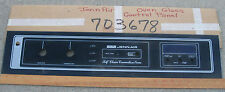 Jenn-Air 703678 PS521041 Convection Oven W142 Glass Front Control Panel
