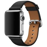 Nuevo Original De Pulsera Correa Cuero Hebilla Reloj para Apple iWatch 38/42mm