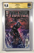 🔥THANOS 15 4TH PRINT CGC 9.8 SIGNED BY DONNY CATES FALLEN ONE CVR APP