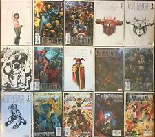 15 Ultimatum Complete Set 1 2 3 4 5 Variant Sketch Lot Marvel Comics Requiem  Nm