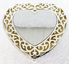 "Things Remembered Beautiful Silver Heart Shape Jewelry Box ""My Baby"" MINT"