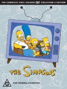 The Simpsons : Season 1 DVD Box Set (Pal, 2007, 3-Disc Set) Free Post