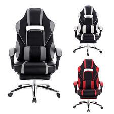 eSituro Chaise Gaming Ergonomique Chaise de Gamer Fauteuil de Bureau réglable