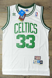 Larry Bird #33 Boston Celtics Jersey Swingman Classics Retro New Mens White