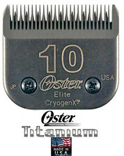 Oster A5 ELITE TITANIUM 10 Blade*LASTS 3x LONGER*Fits Most Andis,Wahl Clippers