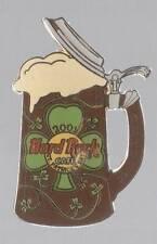 HRC ST. PATRICK'S DAY DENVER 2001 BEER STEIN HARD ROCK CAFE PIN 400 LTD
