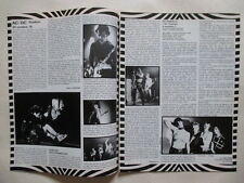 ACDC Angus Stranglers Extraballe Van Halen BB King clippings France French 1970s