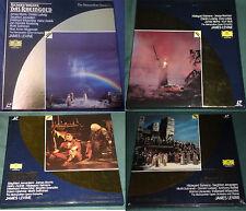 DER RING DES NIBELUNGEN Richard Wagner Metropolitan Opera Laserdisc James Levine