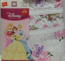 New 2t-3t toddler girls Princess Ballet Dance underwear 3 pr panty pack