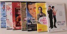 Lot 7DVD:Mel Gibson, C Gainsbourg, Jugnot, Dutronc, C de France, Lio, etc…