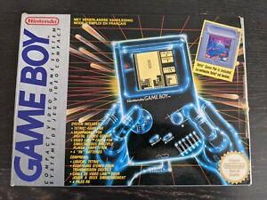 Nintendo - Boite Game Boy Pack Tetris + Poly + Notices