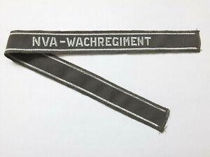 "DDR NVA Ärmelband Wachregiment, Wachregiment 2 (WR-2) ""Hugo Eberlein"",Strausberg"