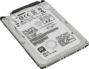 "2.5"" Laptop HDD Internal Hard Drive SATA 5400RPM PS3 PS4 Select Capacity Lot"
