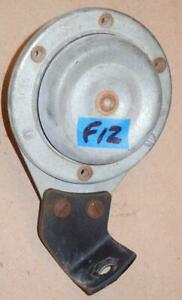Triumph BSA Norton Lucas 6 volt horn 70169 - 4C on bracket WORKS GREAT ^ F12