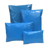 Blue Coloured Mixed Mailing Bag  Poly Postal Mail Polythene Post Strong 4 Sizes
